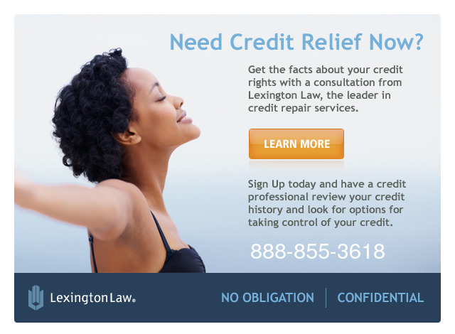 Lexington Law Credit Repair Information - Toll Free Telephone Number